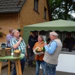 Peter bedankt sich bei Sigrid und Siegfried Schönborn für die Gastfreundschaft.