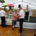 Siegerehrung vom 1. Ringeler Sommerbiathlon 3. Platz: Lokomotive Lengerich