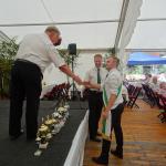 Verleihung der Vereinspokale und Ehrung langjähriger Mitglieder