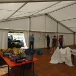 Zelt aufräumen