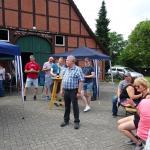 Peter Lutterbey bedankt sich für die gelungene Organisation