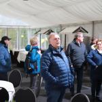 Peter Lutterbey begrüßte alle Wanderer zur Winterwanderung